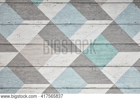 Textured geometry background. Pattern paper with geometry line. Top view, flat lay