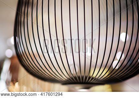 Arrangement Of Hanging Lighting Fixtures, Warm And Vintage Interior Light, Modern Home Decor, Contem