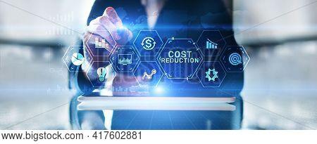 Costs Reduction Business Finance Optimisation Strategy Economy Saving
