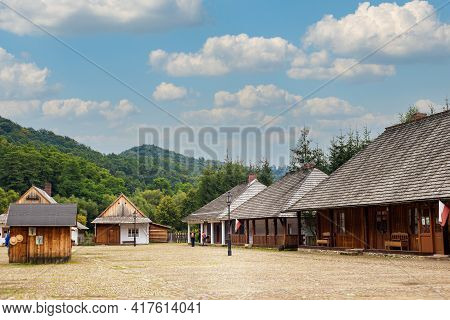 Rural Architecture Museum Sanok Poland