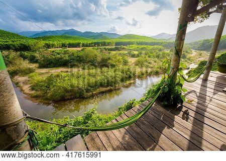 Viewpoint Hammock Phong Nha Vietnam