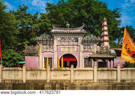 October 10, 2019: A Ma Temple, A Temple To The Chinese Sea Goddess Mazu Built In 1488 And Located At