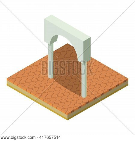 High Arch Icon. Isometric Illustration Of High Arch Vector Icon For Web