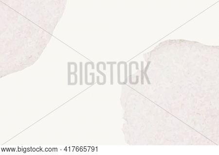 Background of beige watercolor with gray stains in simple style