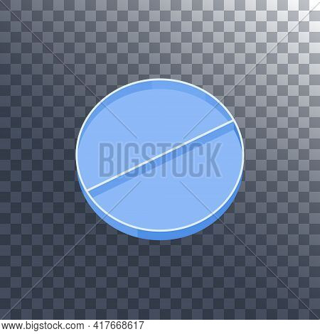 Petri Dish With Divider On Transparent Background
