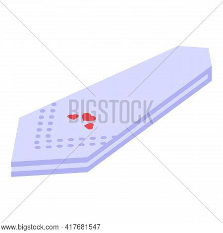Hygiene Handkerchief Icon. Isometric Of Hygiene Handkerchief Vector Icon For Web Design Isolated On