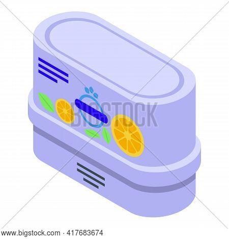 Toilet Air Freshener Icon. Isometric Of Toilet Air Freshener Vector Icon For Web Design Isolated On