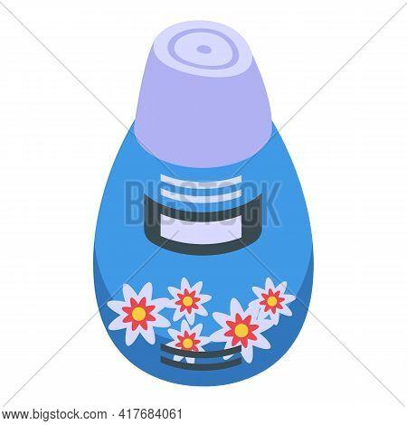 Flower Air Freshener Icon. Isometric Of Flower Air Freshener Vector Icon For Web Design Isolated On