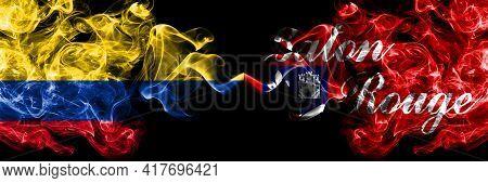 Colombia, Colombian Vs United States Of America, America, Us, Usa, American, Baton Rouge, Louisiana