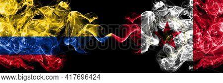Colombia, Colombian Vs United States Of America, America, Us, Usa, American, Birmingham, Alabama Smo