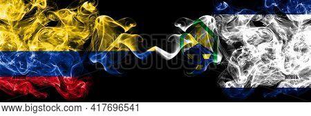 Colombia, Colombian Vs United States Of America, America, Us, Usa, American, Colorado Springs, Color