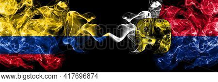 Colombia, Colombian Vs United States Of America, America, Us, Usa, American, Memphis, Tennessee Smok