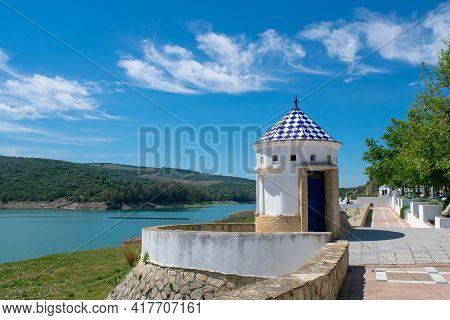 Bornos Reservoir Lake, Cadiz. Andalucia. España. Europa.