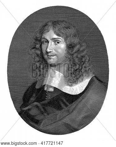Portrait of a Young Man, Pieter Romans, 1828-1835