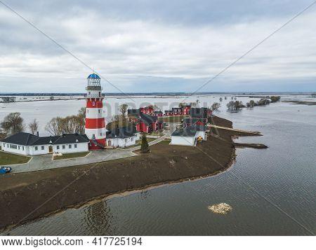 Fishing Village Hotel Near Ryazan City. Russia