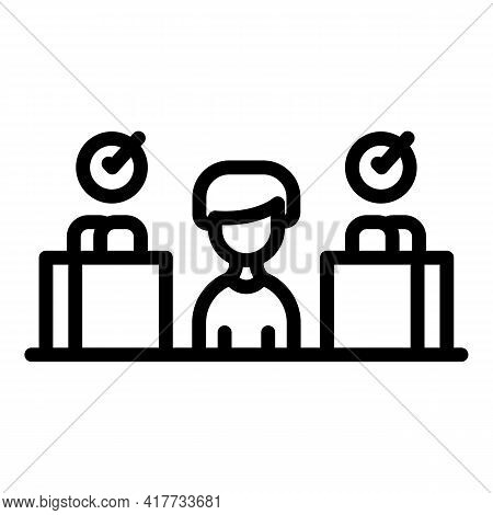 Consumer Protection Icon. Outline Consumer Protection Vector Icon For Web Design Isolated On White B