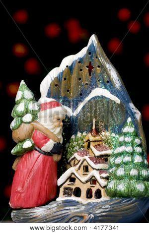 Weihnachten-Kerze-Halter