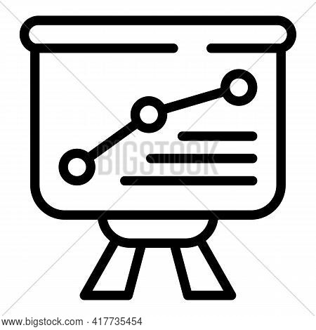Education Dashboard Icon. Outline Education Dashboard Vector Icon For Web Design Isolated On White B