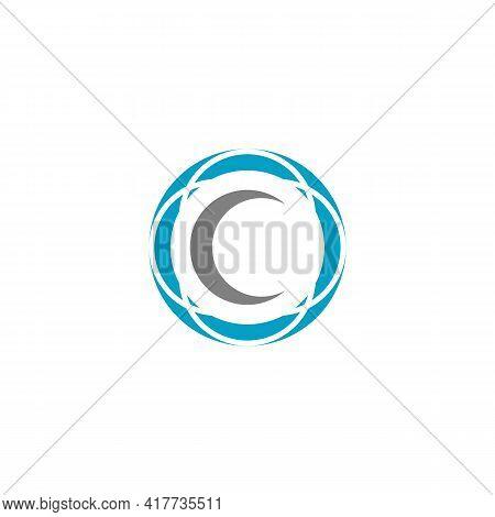 Illustration Vector Design Graphic Of Logo Letter C