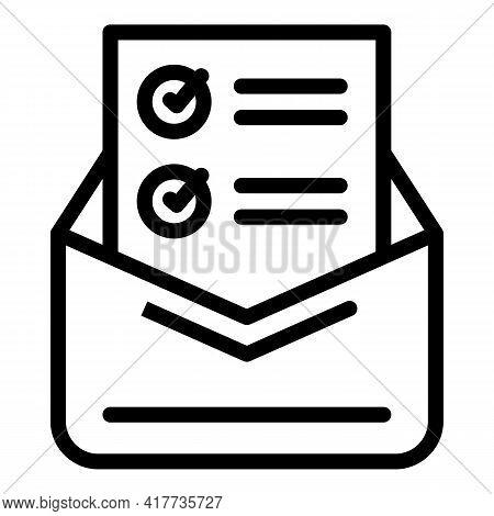 University Letter Icon. Outline University Letter Vector Icon For Web Design Isolated On White Backg