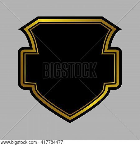 Shield Icon Isolated On White Background From User Interface Collection. Shield Icon Thin Line Outli