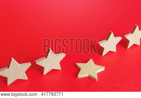A Fallen Star From A Row. Loss Of The Fifth Star. Drop In Rating, Prestige And Reputation Reduction.