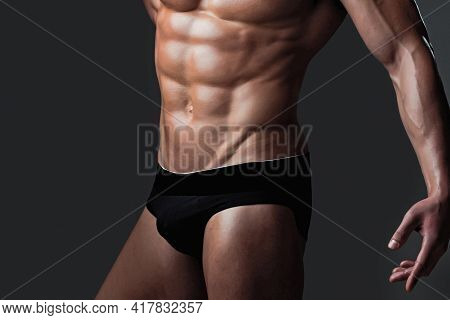 Sexy Muscular Men With Bare Naked Body Torso.