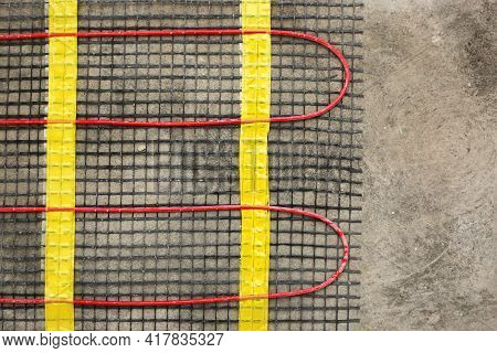 Installation Of Underfloor Heating For Thermal Comfort Using Conduction Radiation And Convection. Cl