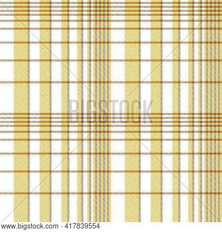 Orange Ombre Plaid Textured Seamless Pattern