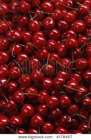 Background Of Cherries