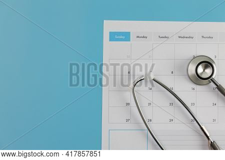 Doctor Appointment Schedule Checkup On Calendar Medicine Doctor Working With Computer Interface As M