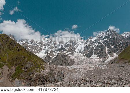 High Caucasus mountains. Svaneti. Georgia.