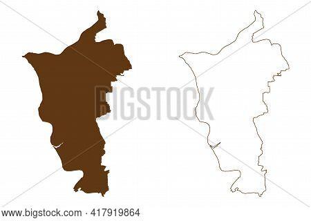Gross-gerau District (federal Republic Of Germany, Rural District Darmstadt Region, State Of Hessen,