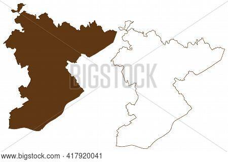 Main-taunus District (federal Republic Of Germany, Rural District Darmstadt Region, State Of Hessen,