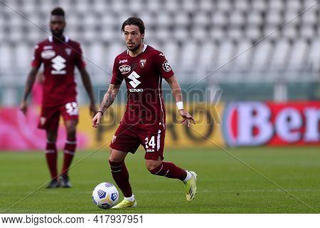 Torino, Italy. 18th April 2021. Simone Verdi Of Torino Fc  During The Serie A Match Between Torino F