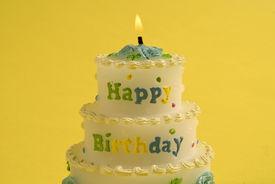 Birthday Cake Candle 3