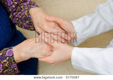 Holding Old Hands