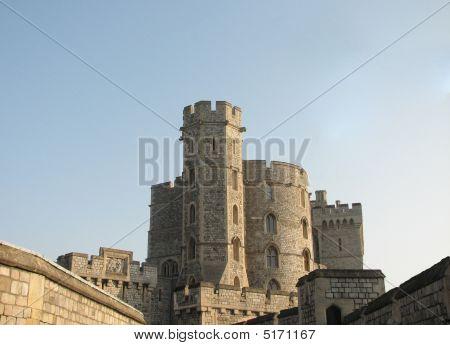 echte mittelalterliche Burg