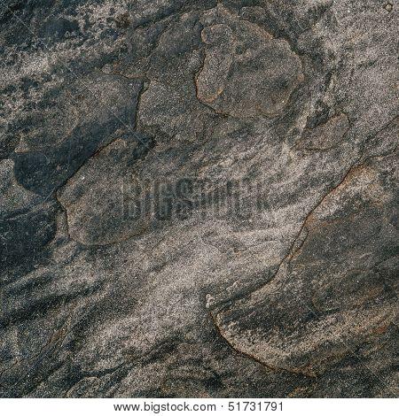 Stone Slate Rock Background, Dark Grunge Background