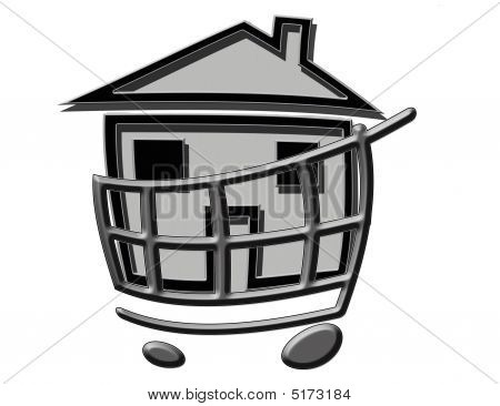 House In Cart