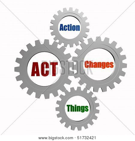 Act - Action, Changes, Things In Silver Grey Gears