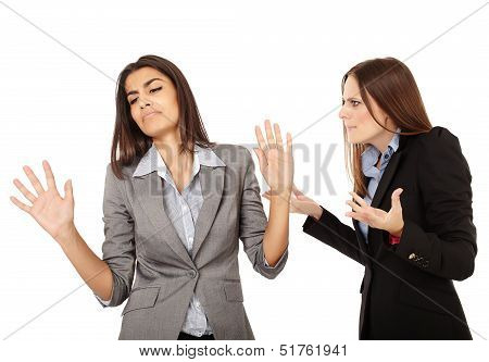 Businesswomen Having An Argument