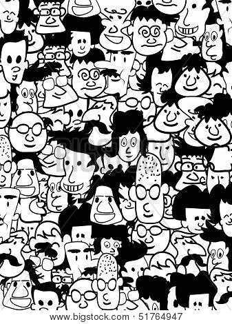 Crowd Faces
