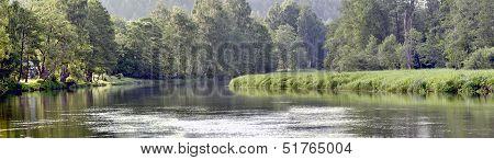 The Sventoji River Near Anyksciai