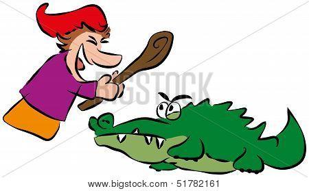 Punch and Crocodile