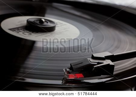 vinyl record player