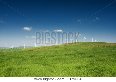 Wind Farm - Alternative Energy Source