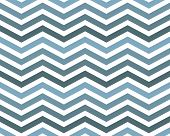 Blue Zigzag Pattern Background that is seamless and repeats poster