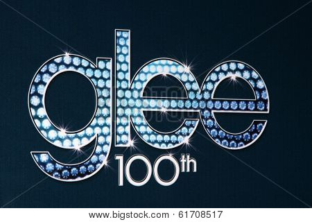 LOS ANGELES - MAR 18:  GLEE 100th Show at the GLEE 100th Episode Party at Chateau Marmont on March 18, 2014 in West Hollywood, CA