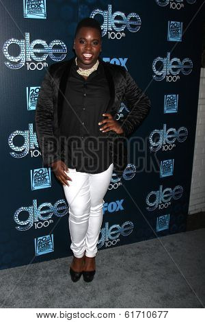 LOS ANGELES - MAR 18:  Alex Newell at the GLEE 100th Episode Party at Chateau Marmont on March 18, 2014 in West Hollywood, CA